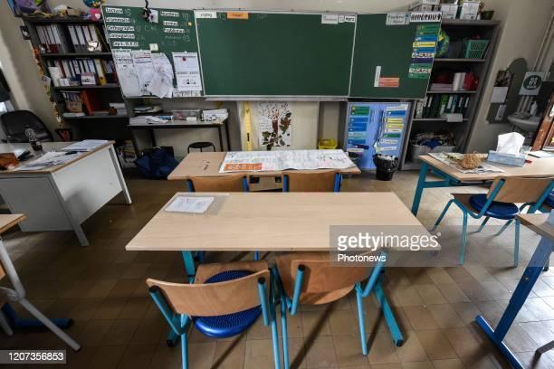 Er wordt geen les meer gegeven maar de scholen blijven opvang verzekeren - Virus Corona: il n'y a plus d'enseignement, mais les écoles continuent...