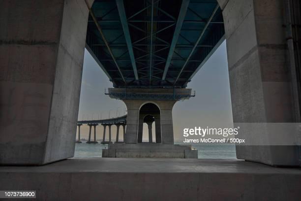 coronado bridge 01 - mcconnell stock pictures, royalty-free photos & images