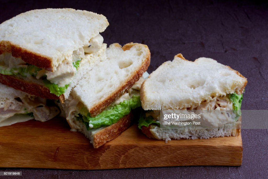 Coronation Chicken Sandwiches... : News Photo