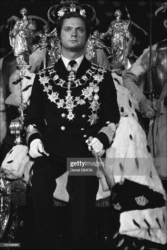 Coronation Of King Carl Gustav In Stockholm, Sweden On September 19, 1973. : News Photo