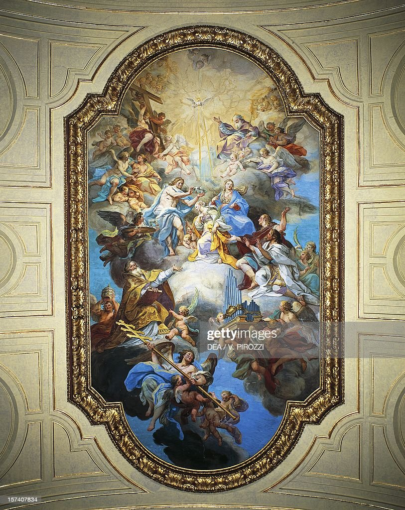 Coronation of St Cecilia, 1725 : News Photo