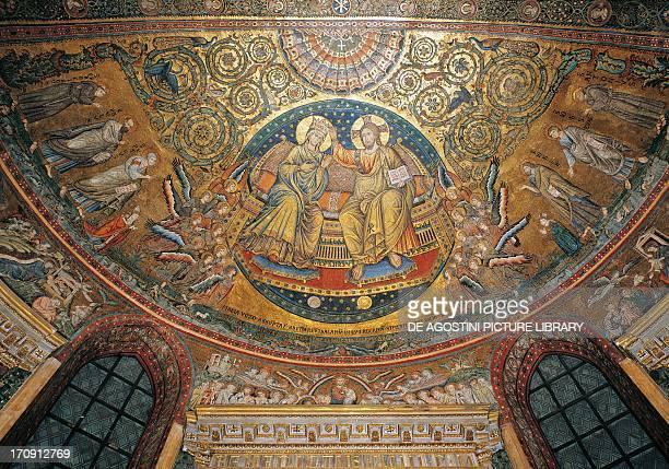 Coronation of the Virgin mosaic by Jacopo Torriti apse of the Church of Santa Maria Maggiore Rome Lazio Italy