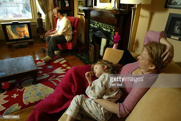 Coronation RB06 02/13/05 My Sunday ritual for Elizabeth Saunders her husband Cliff and daughter Bridget 4 is watching Coronation Street on TV for 2...