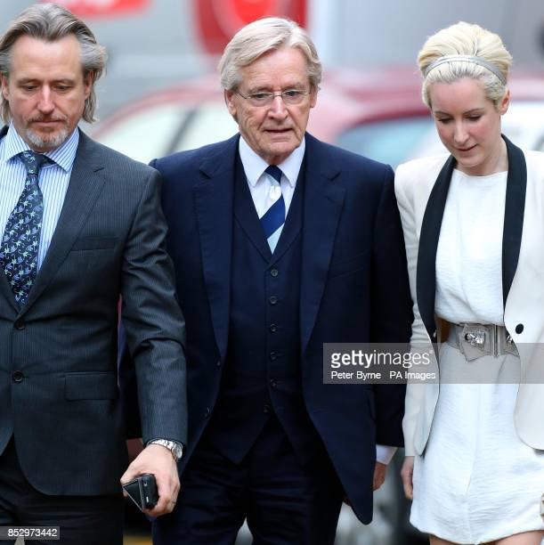 Coronation street actor Bill Roache arrives at Preston Crown Court with his son Linus and daughter Verity where he denies two counts of raping a...