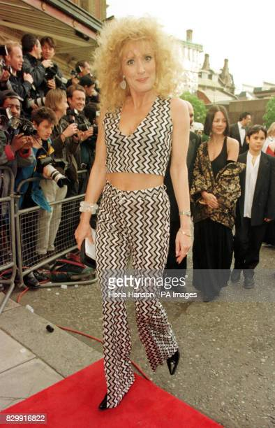 Coronation Street actress Beverley Callard arriving at the Royal Albert Hall for the BAFTA award ceremony