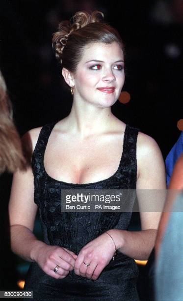 Coronation Street actress Jane Danson arrives at the Royal Albert Hall in London for the National Television Awards. : Danson announces she is to...