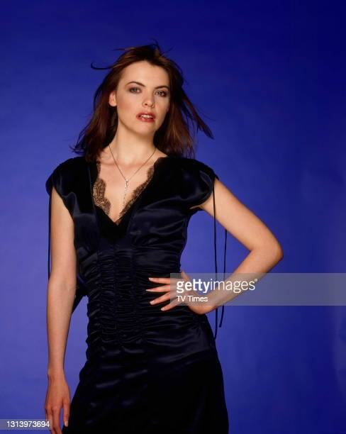 Coronation Street actress Kate Ford who plays Tracey Barlow, circa 2003.