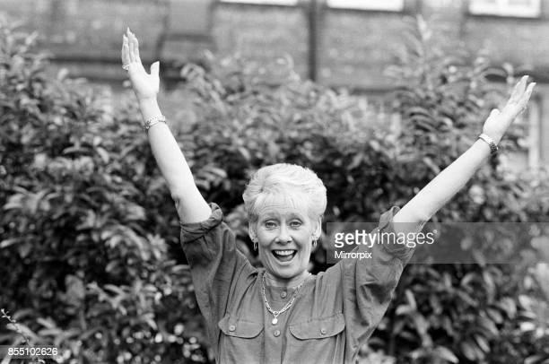 Coronation Street actress Liz Dawn 30th June 1987
