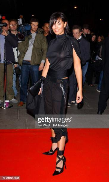 Coronation Street actress Naomi Russell arriving at The Sanderson London for the launch of triggerstreetcom