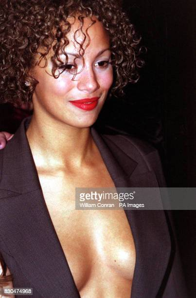 Coronation Street actress Naomi Russell at the National Television Awards 2000 at the Royal Albert Hall in London She is wearing a jacket by...
