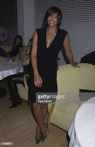 Coronation Street actress Naomi Russell attends Holly Valance's party at the Asia de Cuba in Saint Martins Lane Hotel, London on the 2nd of February...