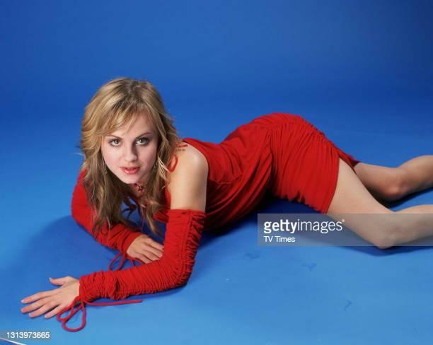 Coronation Street actress Tina O'Brien who plays Sarah-Louise Tilsley, circa 2003.