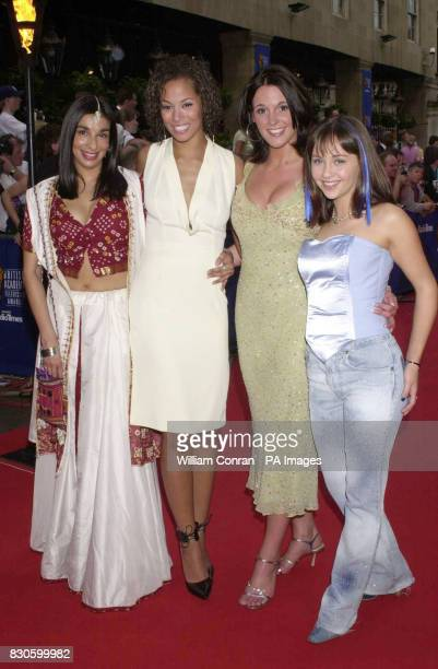 Coronation Street actresses Shobna Gulati, Naomi Russell, Suranne Jones and Samia Ghadie arriving at the British Academy Television Awards, at the...