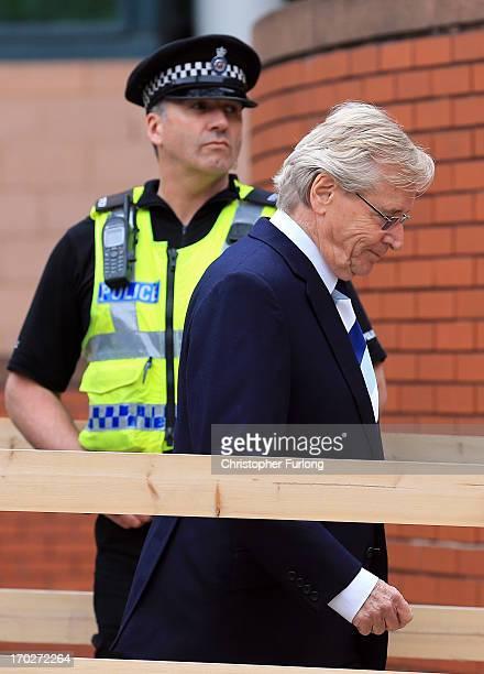Coronation Street Star William Roache arrives at Preston Crown Court on June 10 2013 in Preston Lancashire United Kingdom Coronation Street star...