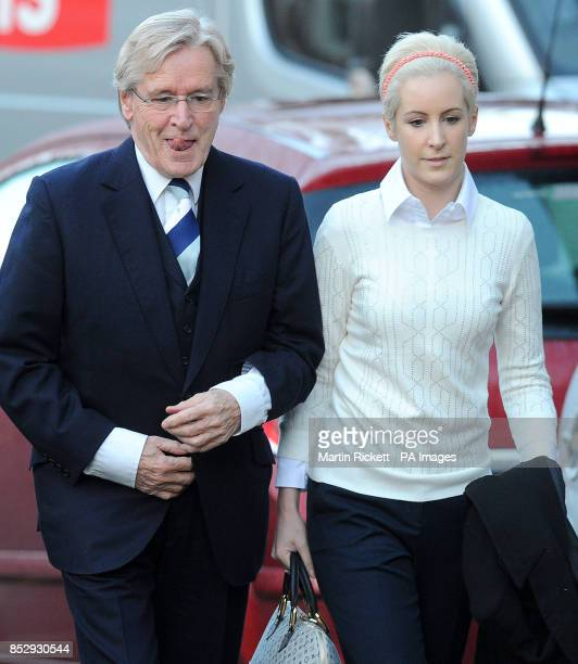 Coronation street star William Roache arrives at Preston Crown court with daughter Verity where he faces two counts of raping a 15yearold girl in...