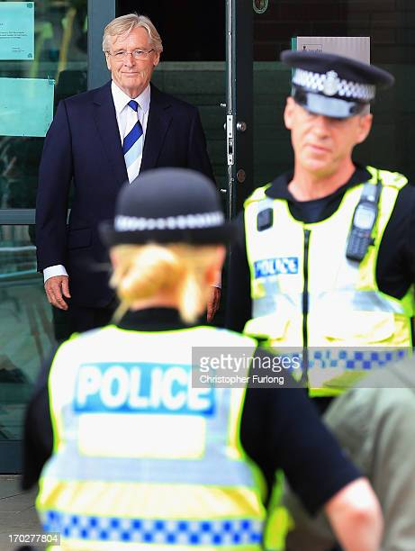 Coronation Street Star William Roache leaves Preston Crown Court after his first appearance on historical sexual offence allegations on June 10 2013...