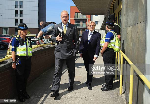 Coronation Street Star William Roache leaves Preston Magistrates Court on June 7 2013 in Preston Lancashire Actor William Roache has been charged...