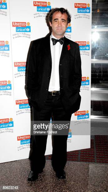 Coronation Street's Michael Le Vell attends the Manchester United `United for UNICEF' Gala Dinner at Manchester United Museum on November 9 2008 in...