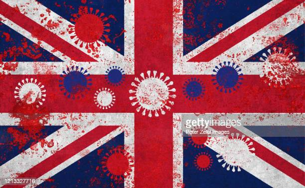 coronavirus covid-19 in british colors - british culture stock pictures, royalty-free photos & images