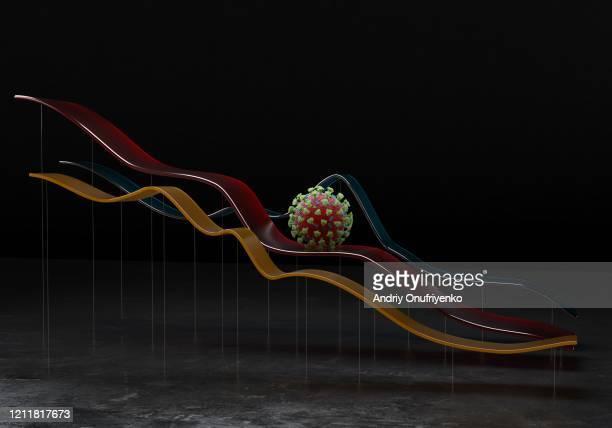 coronavirus economy - economia foto e immagini stock