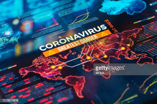 coronavirus greatest danger - spreading stock pictures, royalty-free photos & images