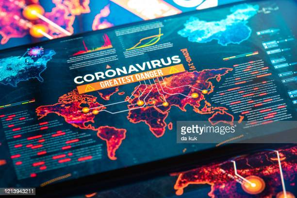 coronavirus greatest danger - globalization economy stock pictures, royalty-free photos & images