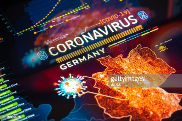 coronavirus outbreak in germany - germany stock pictures, royalty-free photos & images
