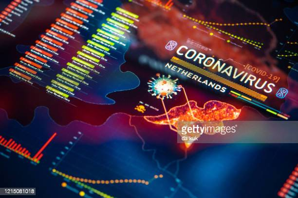coronavirus outbreak in netherlands - netherlands stock pictures, royalty-free photos & images