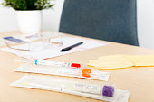 covid coronavirus nasopharyngeal test kit with