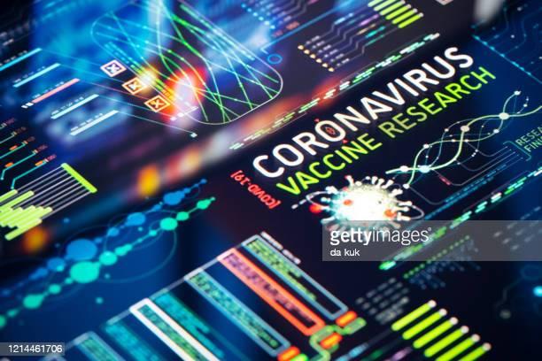 coronavirus vaccin onderzoek - covid 19 vaccin stockfoto's en -beelden