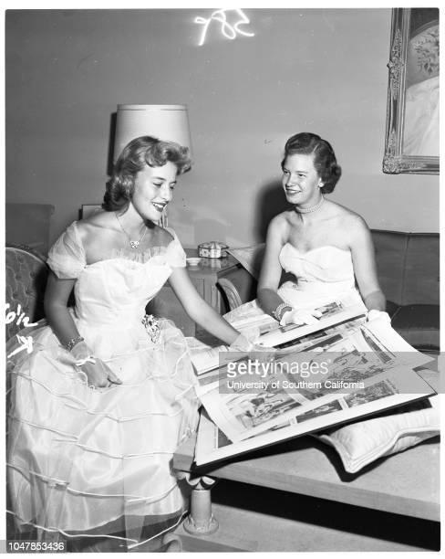 Coronet debutantes 26 November 1955 Marilyn MorrillCarol Lee AckleyJoyce Kathryn LambeauAngela ScellarsKaren AllenElizabeth Anne JonesPatricia...