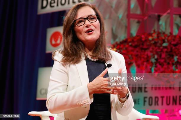 Corp CEO and President Geisha Williams speaks onstage at the Fortune Most Powerful Women Summit Day 2 on October 10 2017 in Washington DC
