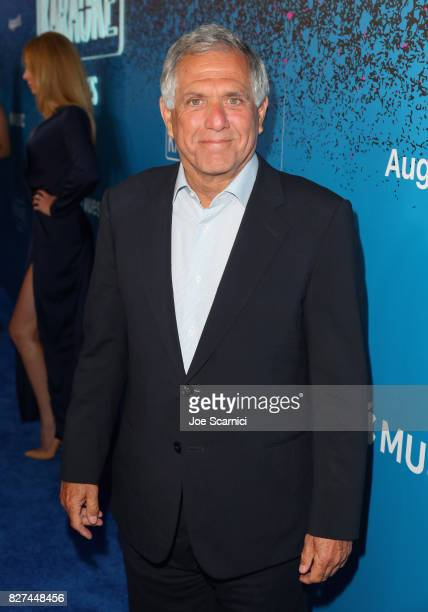 Corp Les Moonves at Apple Music Launch Party Carpool Karaoke The Series with James Corden on August 7 2017 in West Hollywood California