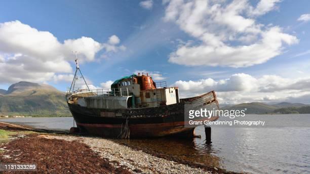 Corpach Boat ruin