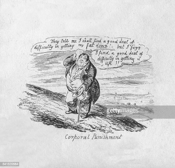 Corporal Punishment' 1829 From Scraps Sketches by George Cruikshank [George Cruikshank London 1829] Artist George Cruikshank