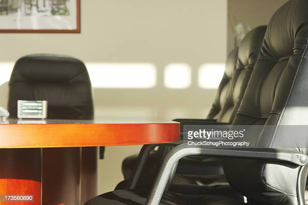 Corporate Board Room Business Meeting Table Chairs