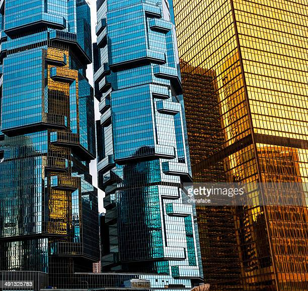 corporate buildings of hong kong