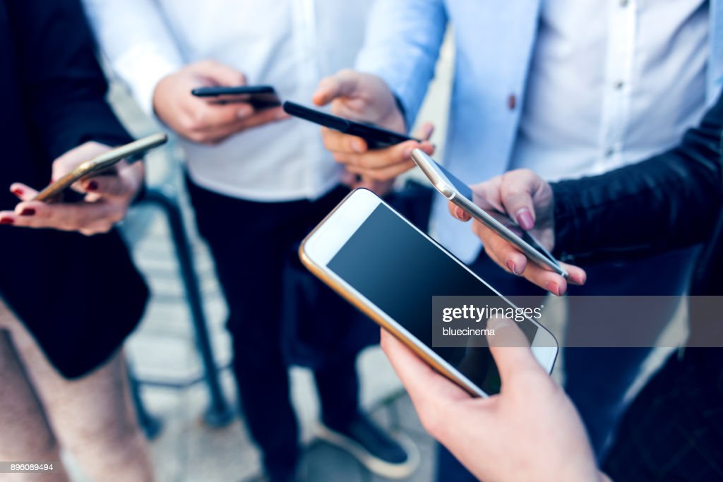 Corporate business networking : Stock Photo