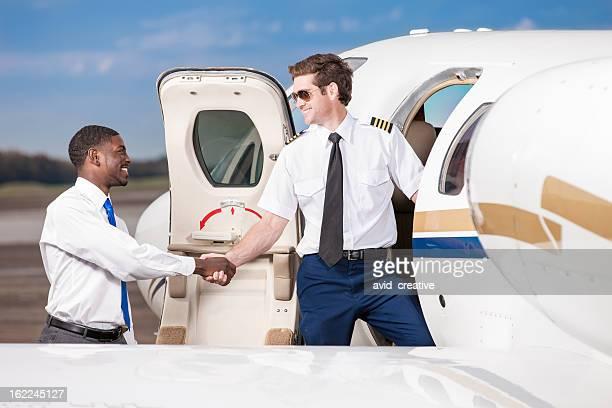 Corporate Business Travel Handshake