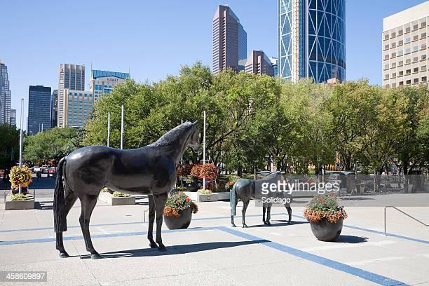 Corporate Calgary From Municipal Plaza