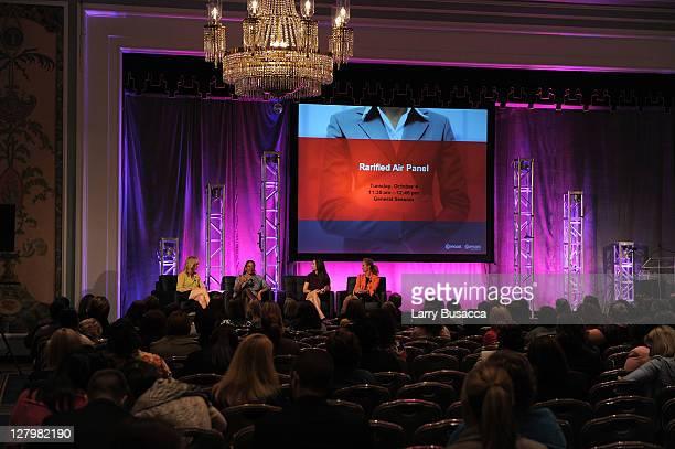 Corporate Communincations for Scripps Networks Interactive Cindy McConkey President of WNBA Laurel J Richie Professor at Harvard Law School Jeannie...
