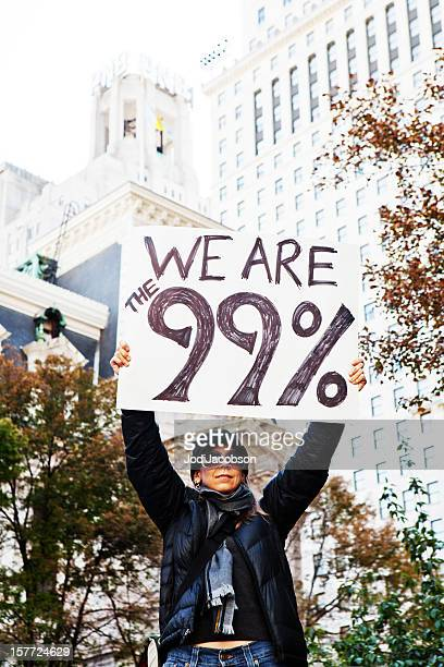 Corporate Greed Protest - We are the 99%