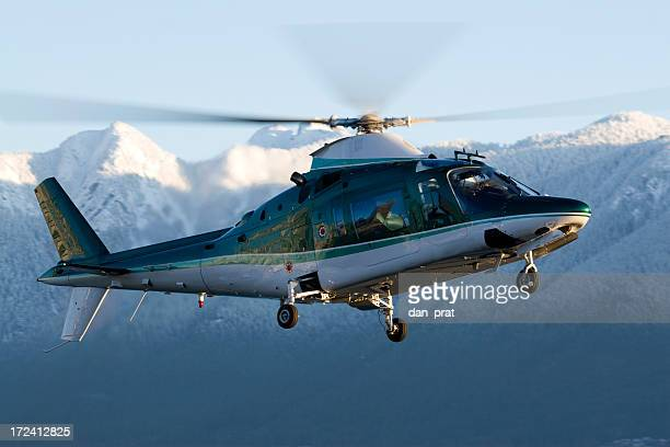 corporate helicopter - augusta maine stock pictures, royalty-free photos & images