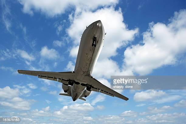 jet avion d'atterrissage