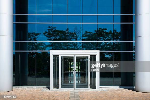 corporate modern office - lease agreement stock photos and pictures