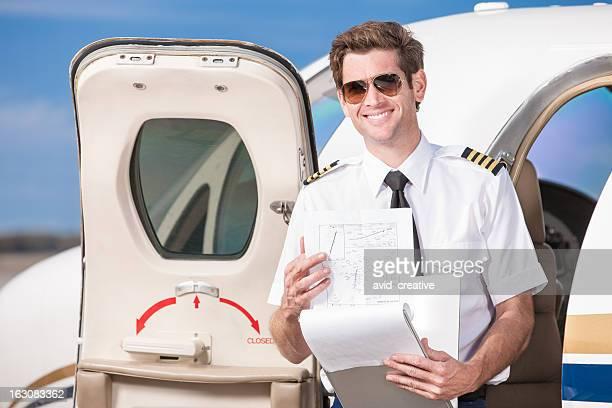 Corporate Pilot with Log Book
