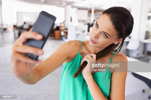 corporate selfies - hair back stock pictures, royalty-free photos & images