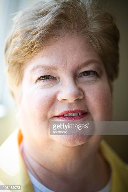 corporate senior - fat old lady stock photos and pictures