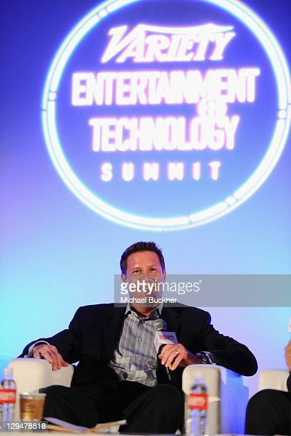 Corporate Strategy Business Development at Disney Kevin Mayer speaks at Variety's 2011 Entertainment And Technology Summit at Ritz Carlton Hotel on...