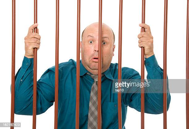 corporate theft - prison bars stock pictures, royalty-free photos & images